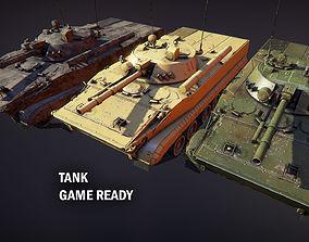 Tank BMP 3 3D model