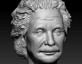 3D printable model Male head 12 Albert Einstein