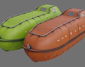 3D model Lifeboat 1B