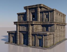 ancient ancestral temple 3D model