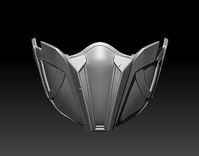 Kitana mask for cosplay Mortal 3D printable model 2