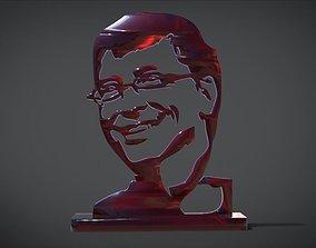 Trophy with gates design 3D printable model