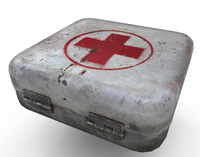 First aid kit 3D asset realtime
