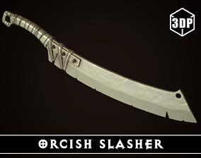 3D print model Orcish Slasher