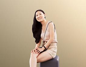 Anita 11350 - Summer Girl Sitting And 3D model