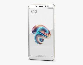 Xiaomi Redmi Note 5 Pro Champagne Gold 3D