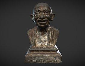 3D asset Gandhi Miniature