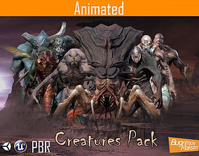 3D asset PBR Creatures Pack