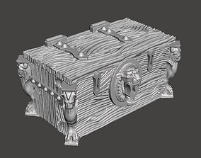 3D print model Ceramic and the Lion Chest