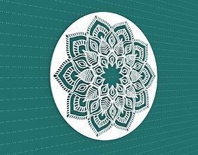 3D Mandala design decor
