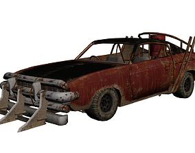 chrysler valiant charger mad max 3D asset