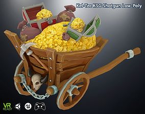 3D asset game-ready Gold Coin Stash Buggy
