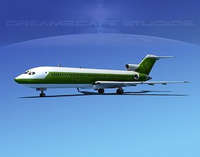 3D model Boeing 727-200 Corporate 1