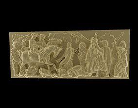 paris 3D print model Triumphal Arch bas-relief