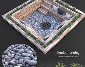 outdoor 3D Outdoor seating
