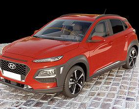 3D Hyundai Kona 2018