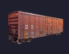 BoxCar LowPoly 3D model realtime