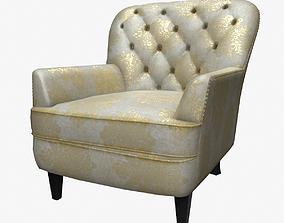 3D asset Hamburg Armchair