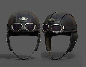 Helmet pilot military combat soldier armor 3D asset