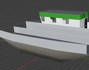 Ferry 3D model watercraft