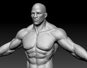 3D model male body 06
