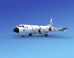 3D rigged Lockheed P-3 Orion JDF 2