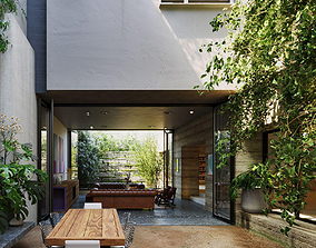 3D Exterior House Design 1