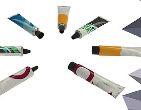 3D lotion Tube Collection