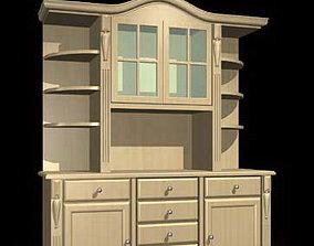 Console 3D Models shelf cabinets