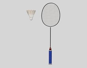 3D model Badminton Set