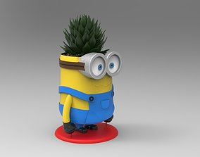 Minion Flower Pot for 3D print