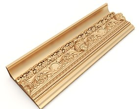 Ceiling Molding 1 - For CNC and Interior 3D model