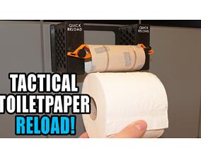 3D toilet paper changer