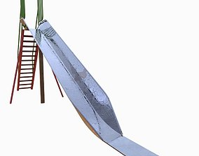 3D model ladder Park Slide