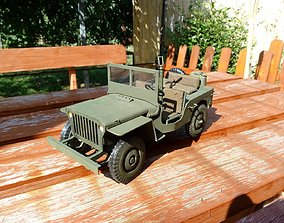 rc jeep modell for 3d print vehicles