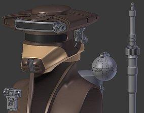 3D printable model Boushh from Star Wars