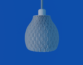 Lampshade NATURE HEX table or pendant lamp - E27 mount 1