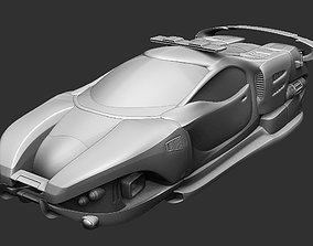 3D printable model Police car of the future