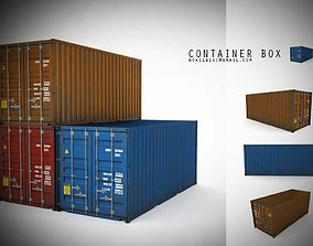 3D asset Container 20ft