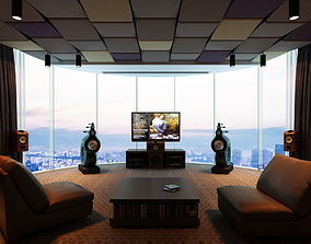 3D model ND Home theatre