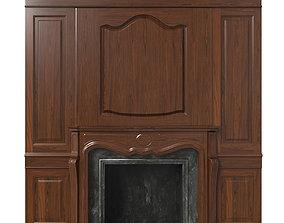 3D model Classic fireplace 07