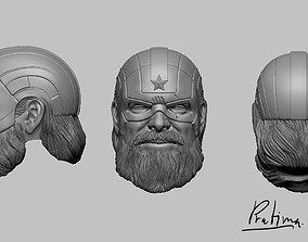3D print model Red guardian masked for mavel legend