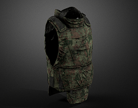Army vest 06 3D model