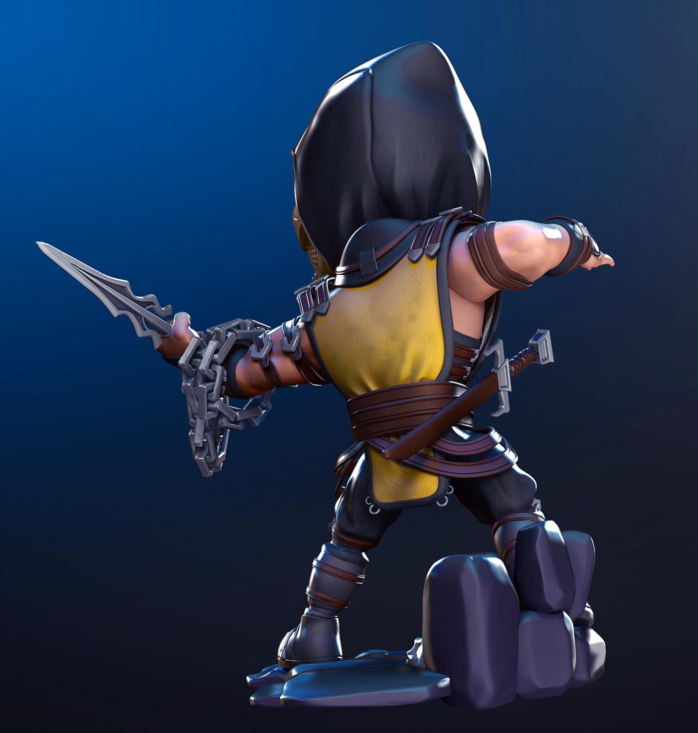 Scorpion MK - fan art