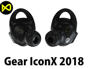 Samsung Gear IconX 2018 3D
