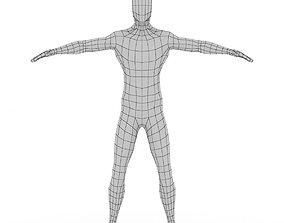 3D model Male Body Base Mesh