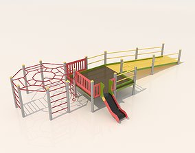 Playground for kids 3D