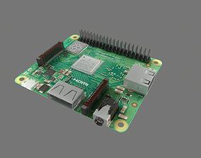 3D model Raspberry Pi A