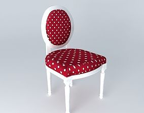Louis the chair houses the world 3D