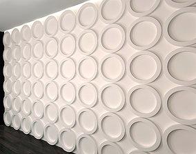 3D model Wall Panel Set 1